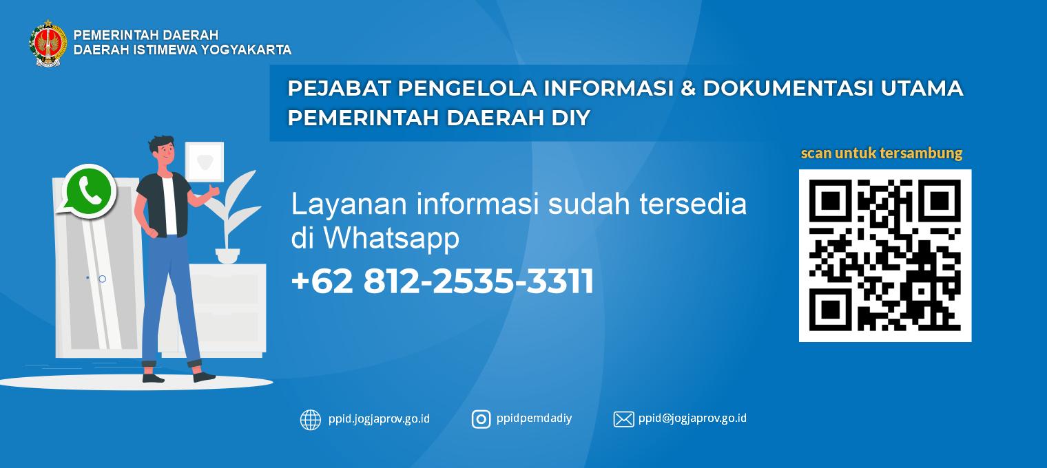 Layanan Informasi melalui Whatsapp